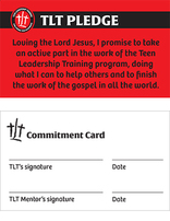 TLT Commitment Cards (Pack of 25)