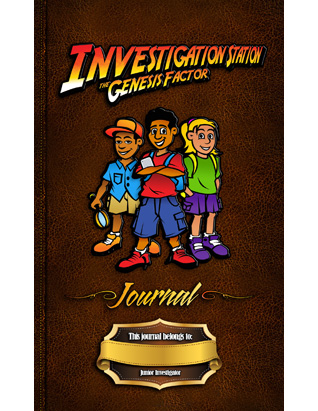 The Genesis Factor VBS: Investigator Journal & Stickers (Package of 10)