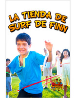 Destination Paradise VBS- Finn's Surf Shop Leader's Guide - Spanish (Games)