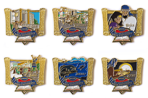 2020 Pathfinder Bible Experience Pins - Set of 6