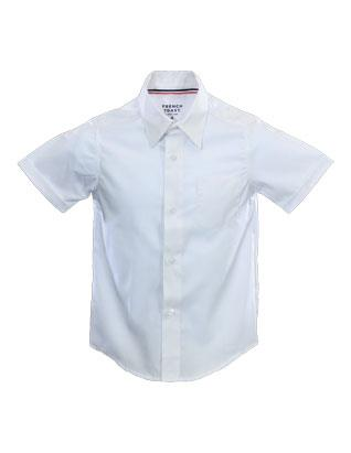 Adventurer Boys' White Uniform Shirt - Short Sleeve