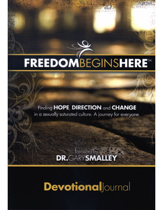 Freedom Begins Here Devotional Journal