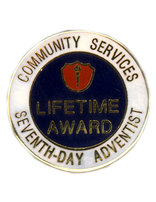 ACS Life Service Award Pin