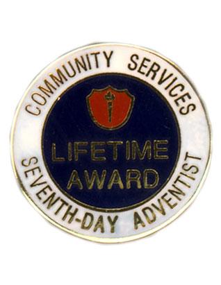 ACS Life Service Award Pin
