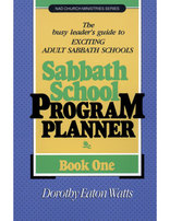 Sabbath School Program Planner #1