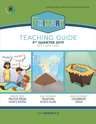 Growing Together SS Curriculum Primary Teacher's Guide 4th Qtr 19 Standing Order