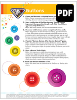 Busy Bee Buttons Award - PDF Download