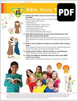 Multilevel Bible Story Telling Award - PDF Download