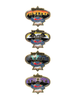 2021 Pathfinder Bible Experience Pins - Set of 4