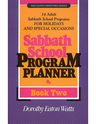 Sabbath School Program Planner #2