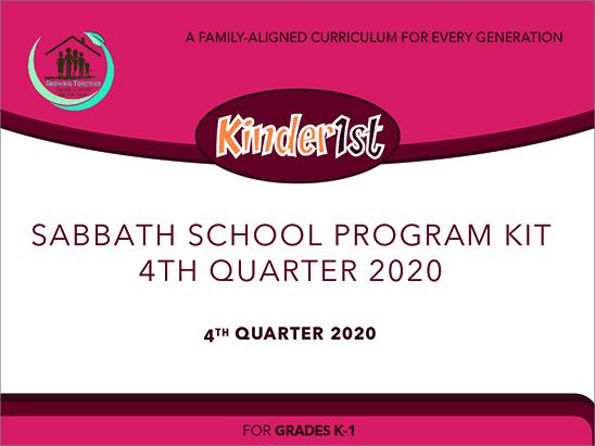 Growing Together Kinder1st Teaching Kit - 4th Quarter