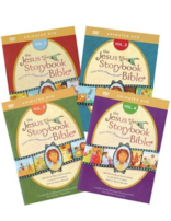 The Jesus Storybook Bible DVDs - Set of 4