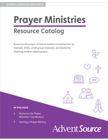 Prayer Ministries Catalog