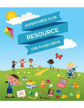 Adventurer Club Resource USB Flash Drive