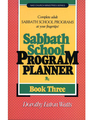 Sabbath School Program Planner #3