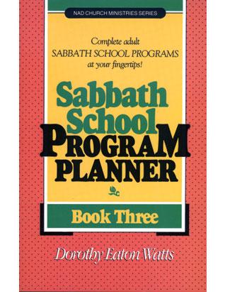Sabbath School Program Planner #3