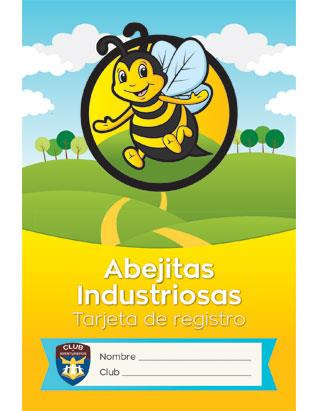 Adventurer Record Card, Busy Bee (Spanish)