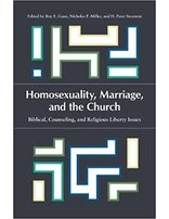 Homosexuality, Marriage, & the Church