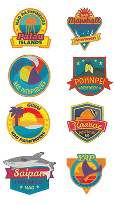 Micronesia Islands Pathfinder Patch