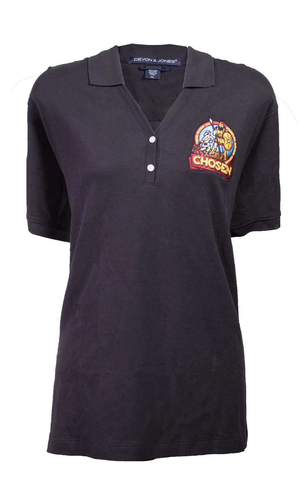 Chosen Women's Polo Black