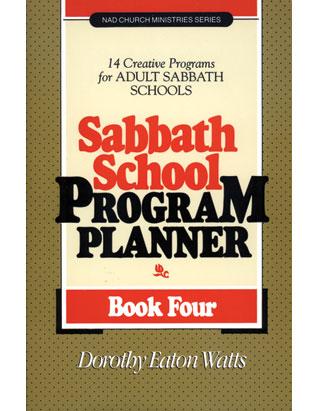 Sabbath School Program Planner #4