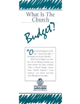 What Is the Church Budget? Package of 50
