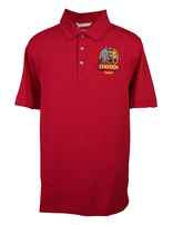 Chosen Men's 'Staff' Polo Red