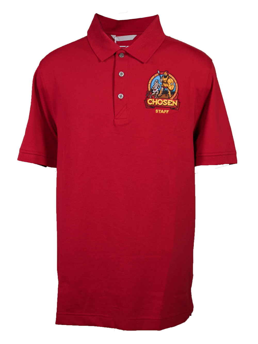 Chosen Men's Staff Polo - Red