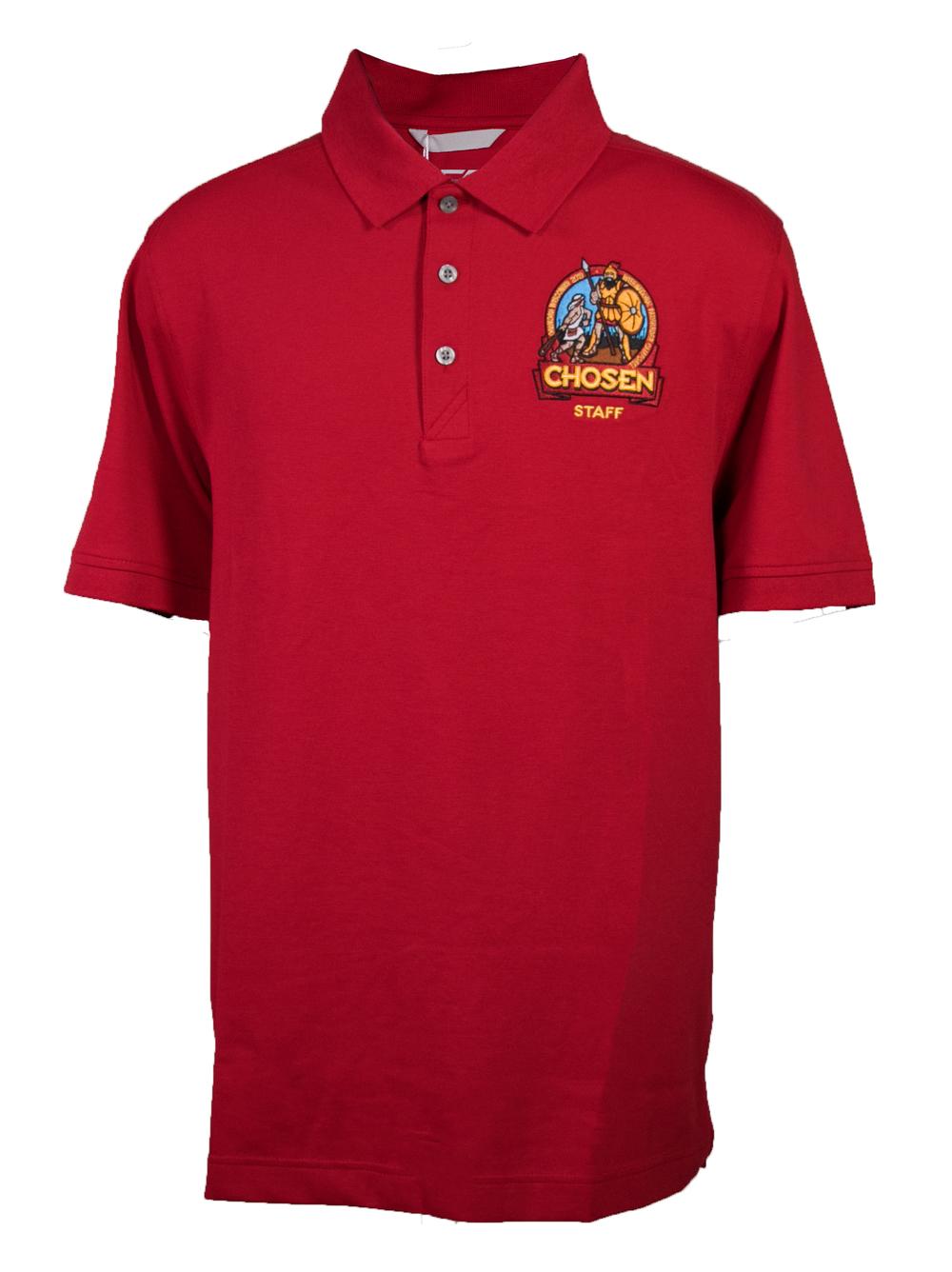 Chosen Men's Staff Polo - Red