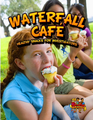 Destination Paradise VBS - Waterfall Cafe Leader's Guide (Snacks)