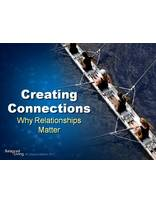 Creating Connections: Why Relationships Matter - Balanced Living - PowerPoint Download