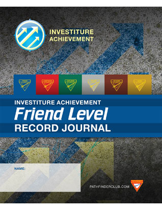 Friend Record Journal - Investiture Achievement