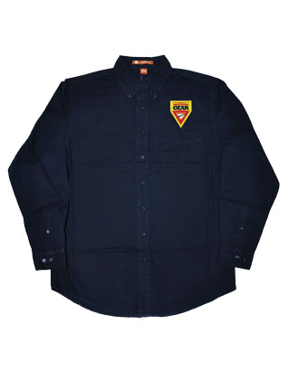 Pathfinder Gear - Men's Long Sleeve Navy Twill