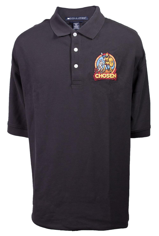 Chosen Men's Polo Shirt - Black