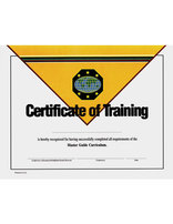Master Guide Achievement Certificate