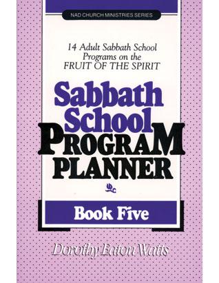 Sabbath School Program Planner #5
