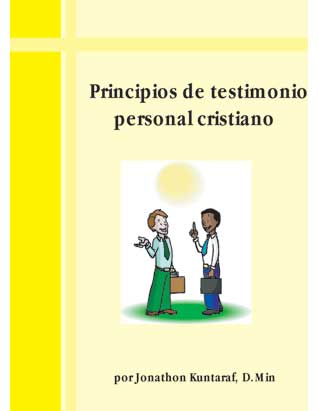 Principles of Personal Christian Testimony (Spanish Only)