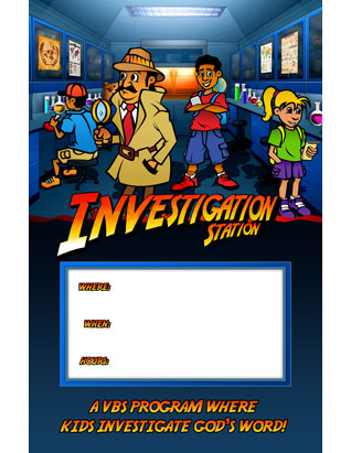 The Genesis Factor VBS: Promotional Posters (Package of 5)