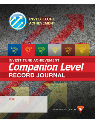 Companion Record Journal - Investiture Achievement