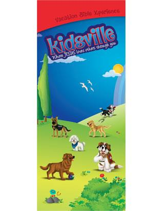 Kidsville VBX Tripod Banner