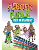 bible Heroes OT Coloring Book