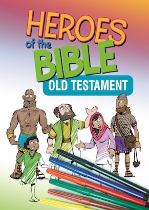 Heroes of the Bible Old Testament Coloring Book
