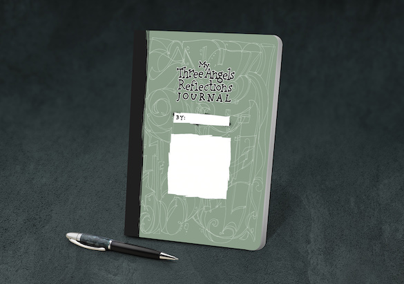 Grades 7-8 Student My Three Angels Reflections Journal