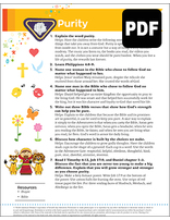 Helping Hand Purity Award - PDF Download