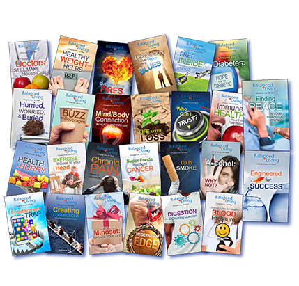 Balanced Living Tracts set of 26