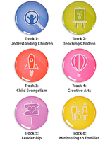 Children's Ministries Certification Pins
