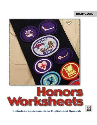 Honors Worksheets USB - Includes English & Spanish