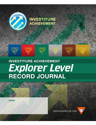 Explorer Record Journal - Investiture Achievement