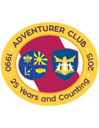 Pin 25 Aniversario del Club de Aventurero