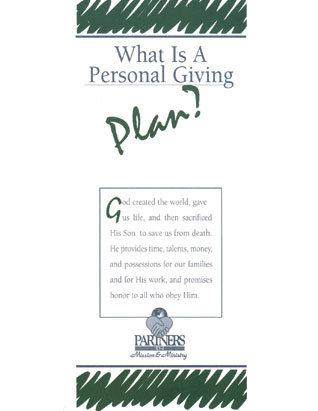 What Is a Personal Giving Plan? Package of 50